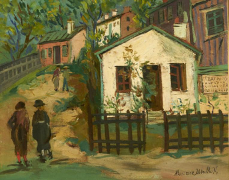 Maquis, Montmartre, circa 1922