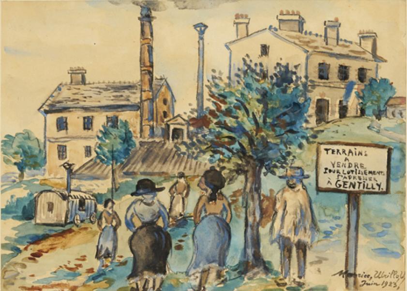 Terrains à vendre, Gentilly (Val de Marne), 1923