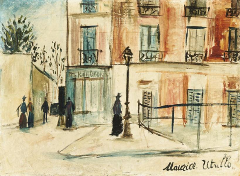 Belle Gabrielle, Montmartre, circa 1912-14
