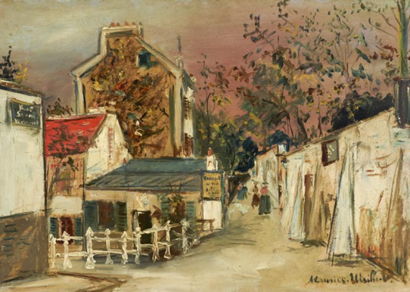 Lapin Agile, Montmartre, circa 1923