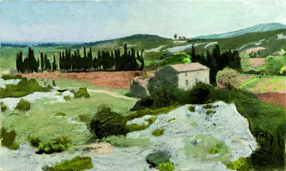Le Mas, environs d'Eygalières