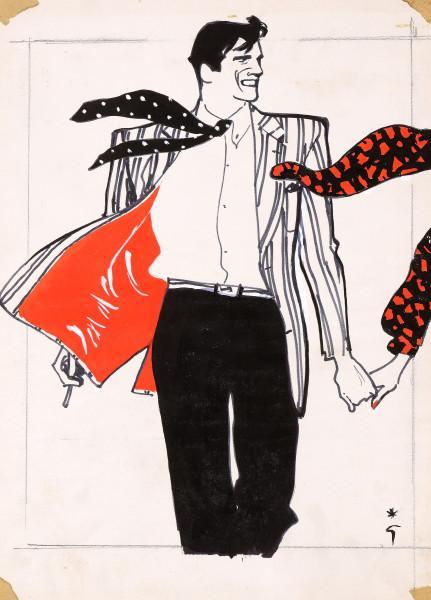 Cravate au vent, Bemberg, 1981