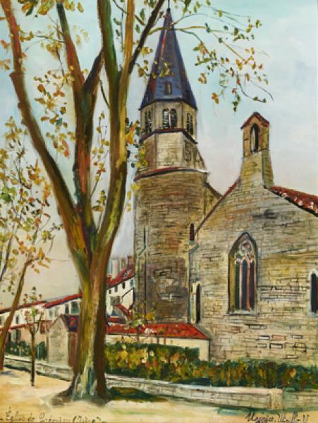 Eglise, Crémieux (Isère) , 1934