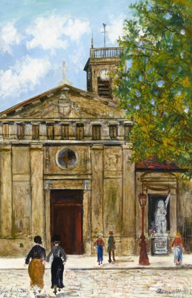 Eglise Saint-Denis de la Chapelle, Paris, 1933