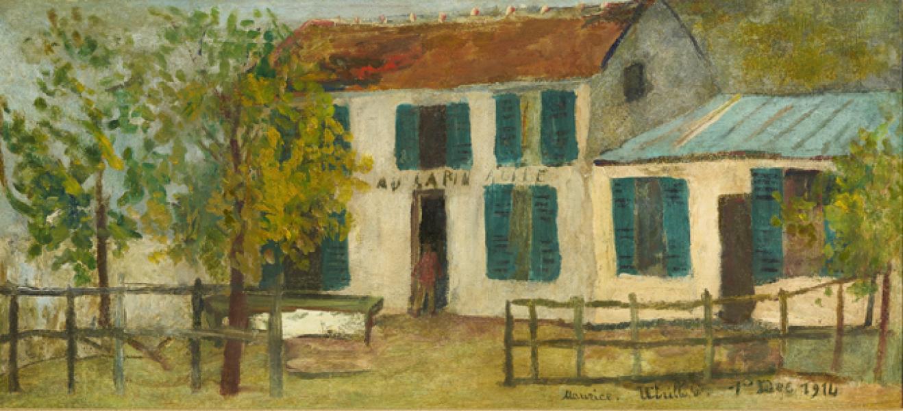 Lapin Agile, Montmartre, 1914