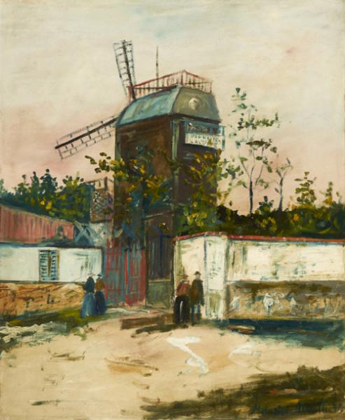 Moulin de la Galette, Montmartre, circa 1922