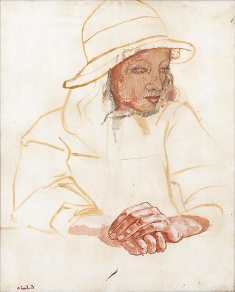 Portrait au chapeau cloche