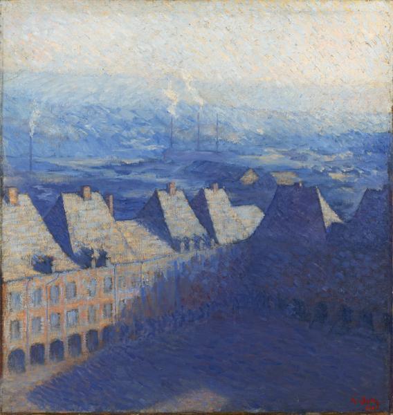 Place Ducale à Charleville-Mezières, 1904