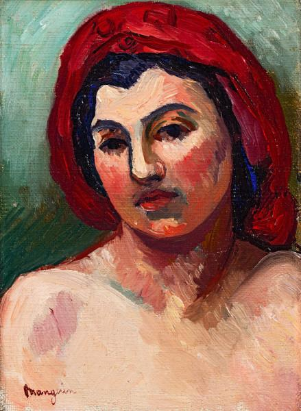 Tête de Marie, vers 1911 - 1913