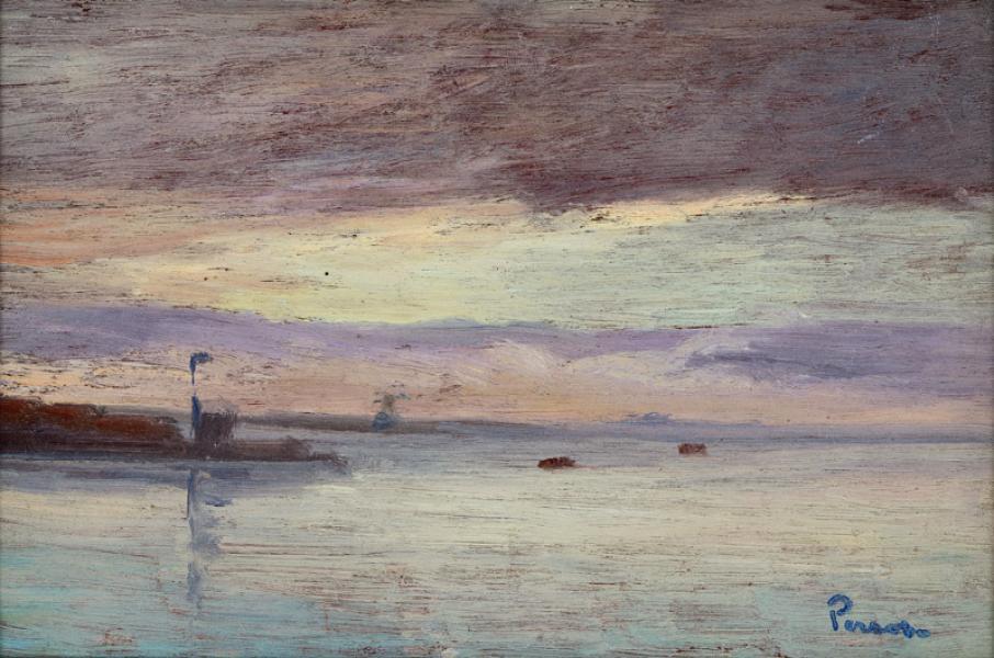 Le Golfe de Saint - Tropez par ciel d'orage