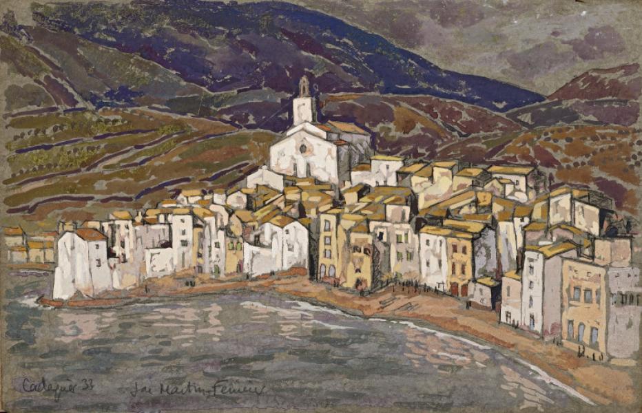 Espagne, Cadaquès, 1933