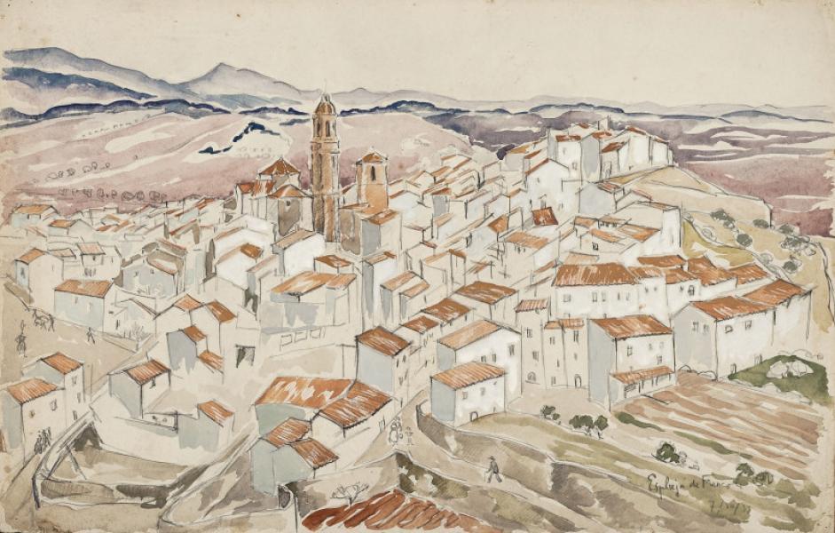Espagne, Espluja de Franco, 7.3.1933