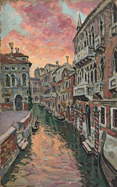 Venise, canal au crépuscule