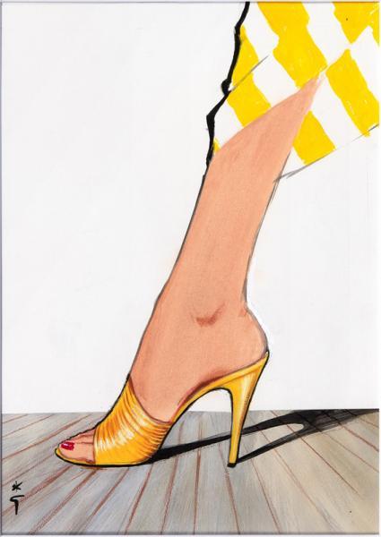 En talon jaune, Garolini