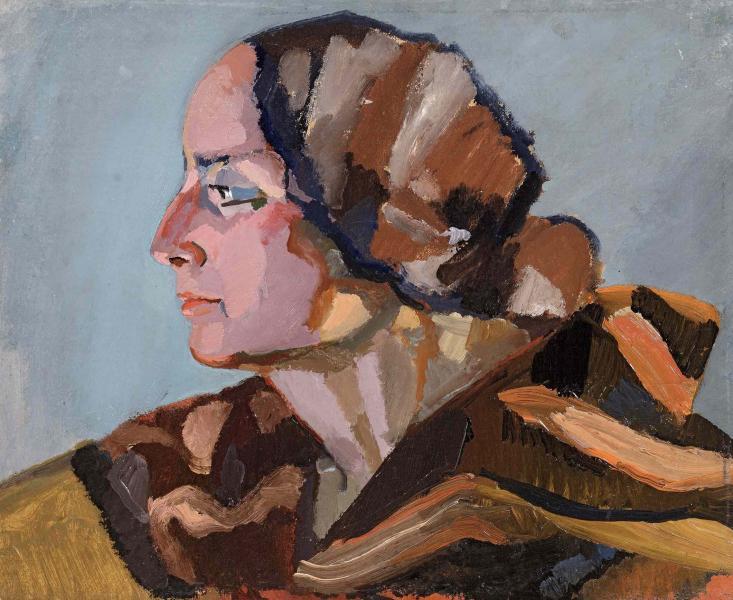 Tête de femme, vers 1923
