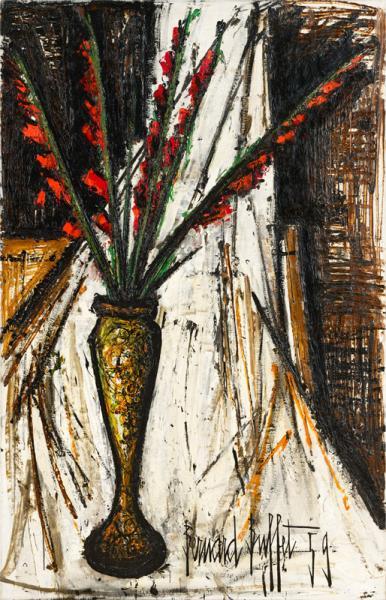 Glaïeuls rouges, 1959