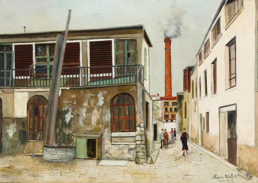 Ruelle des Gobelins à Paris, 1921
