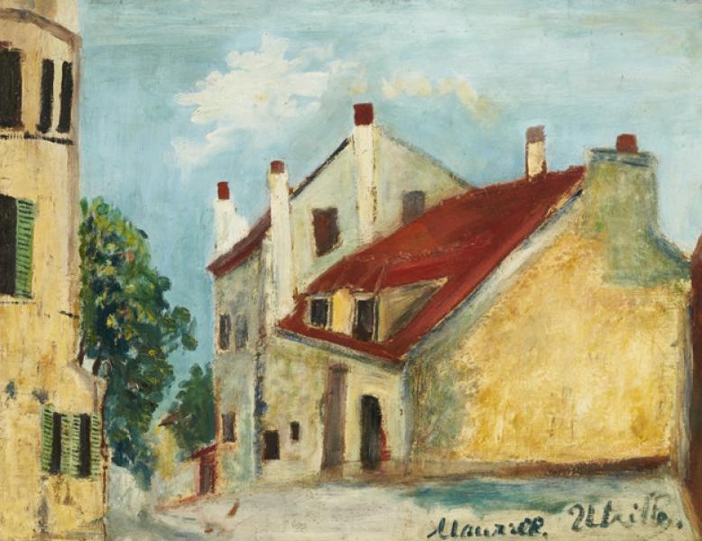Maison de Mimi Pinson, Montmartre, vers 1910-12