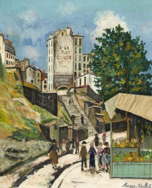Rue Ronsard, Montmartre, 1931