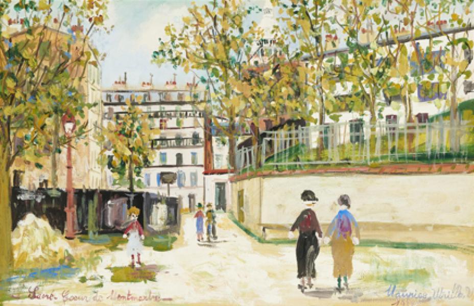 Sacré Coeur de Montmartre, 1933