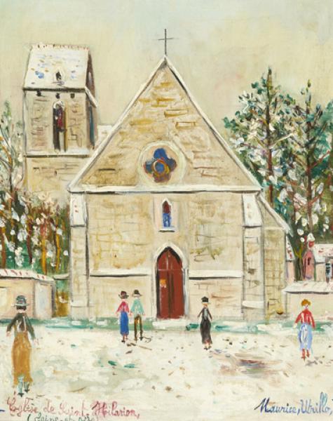 Eglise Saint-Hilarion (Yvelines), circa 1940