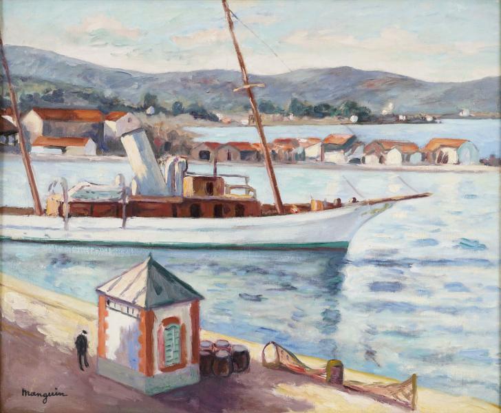 Saint Tropez, l'ancien bureau du port, Eté, Automne 1927