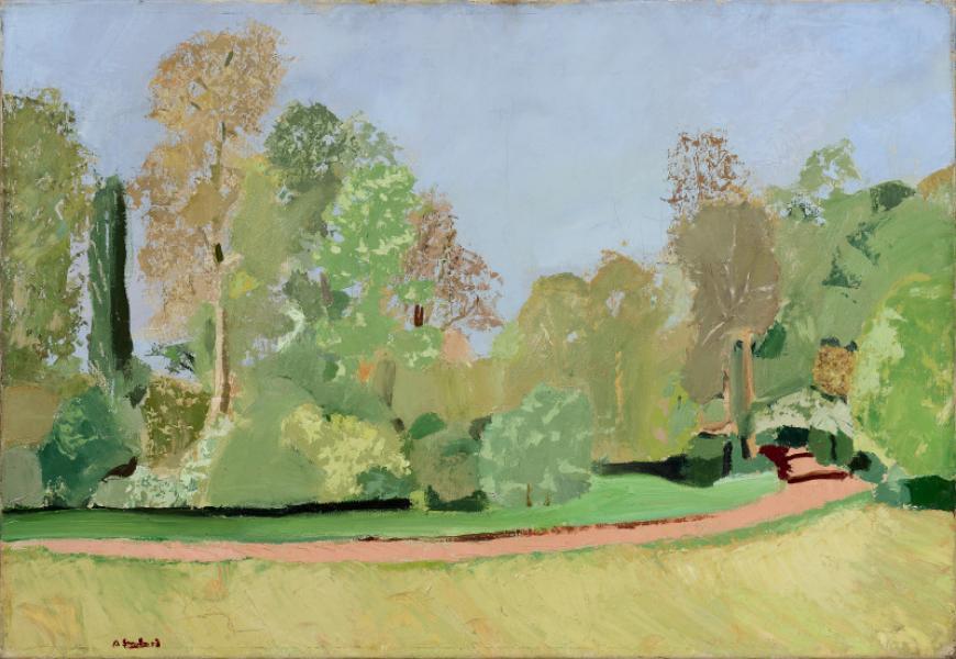 Le parc de Chateauneuf-sur-Loire, vers 1938